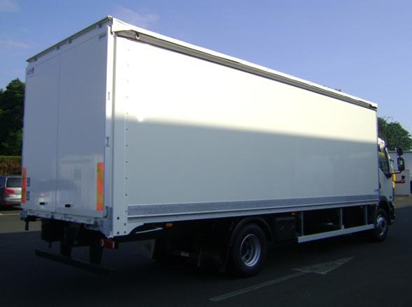 Porteur carrosserie mixte Fourgon PLSC
