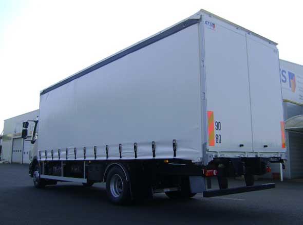 Porteur carrosserie mixte PLSC Fourgon