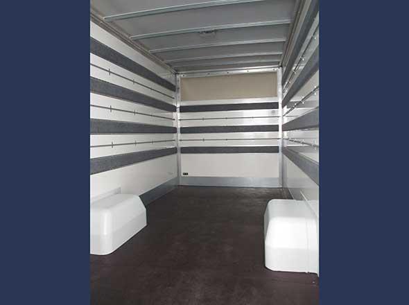 Aménagement intérieur plancher cabine