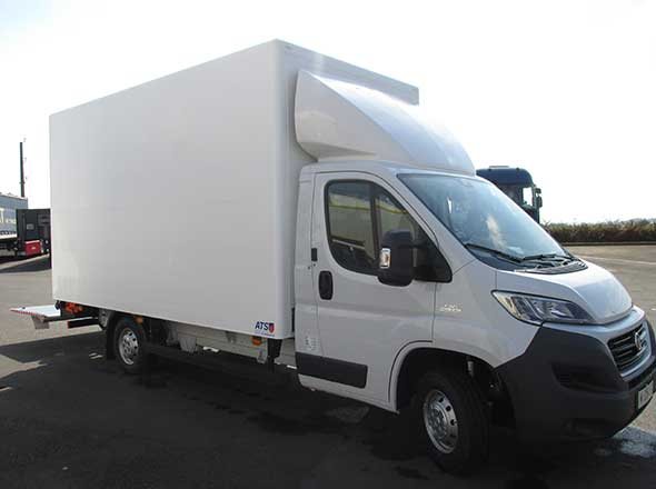 Fiat Ducato fourgon Solight hayon