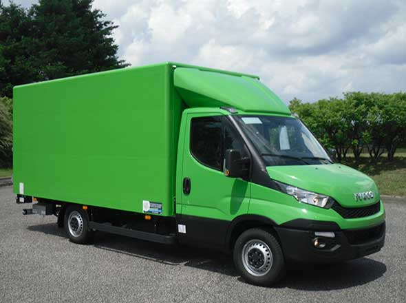 Fourgon Solight sur IVECO Daily