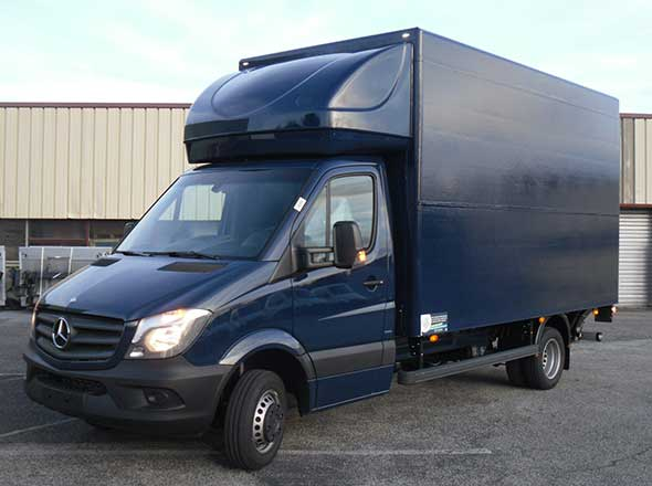 Fourgon Solight sur Mercedes Sprinter