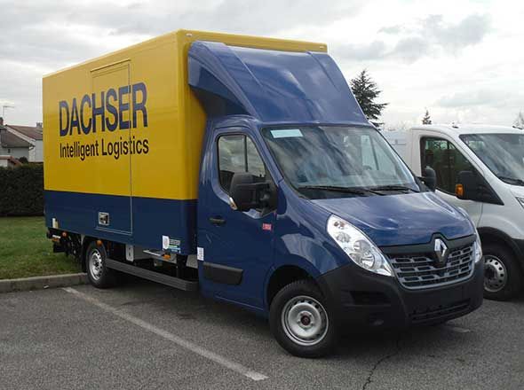 Fourgon Solight sur Renault Master