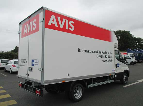 IVECO Daily carrosserie Loueur