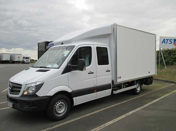 Mercedes Sprinter double cabine