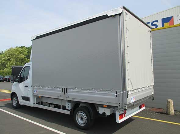 PLSC Ridelle sur Renault Master