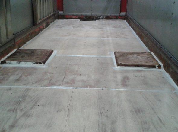 rénovation plancher bétaillère