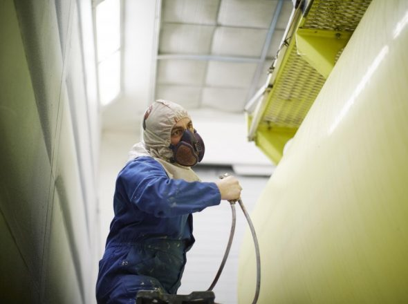 Réparation peinture